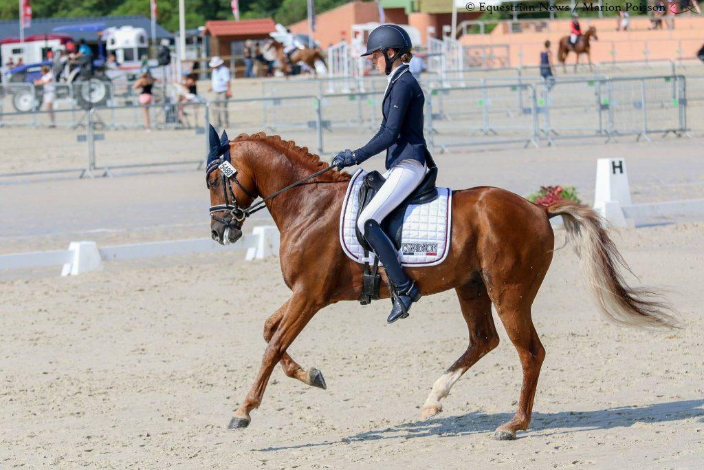 Jade Leborgne et Beltmeyer Linaro aux championnats de France 2018